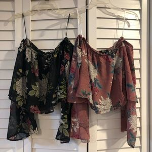 Floral Crop Tops Bundle